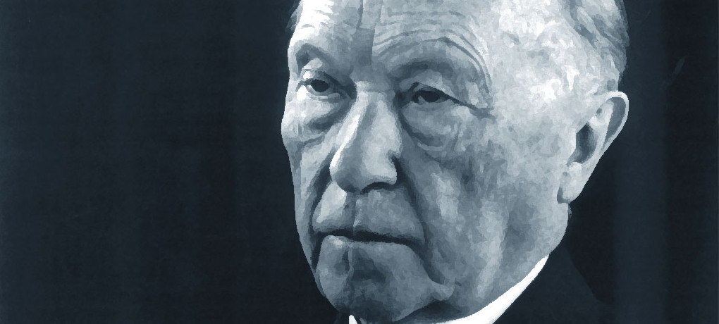 50th anniversary of the death of Konrad Adenauer