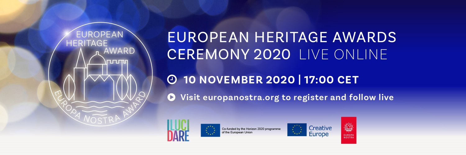 Join us in celebrating the winners of the European Heritage Awards