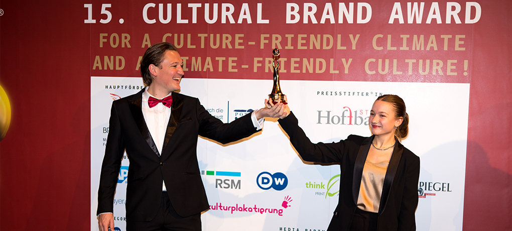 EUYO awarded 'European Cultural Brand of the Year 2020'